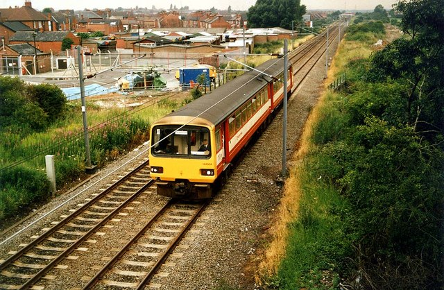 Approaching South Elmsall railway station