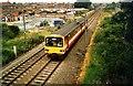 SE4711 : Approaching South Elmsall railway station by Wilson Adams
