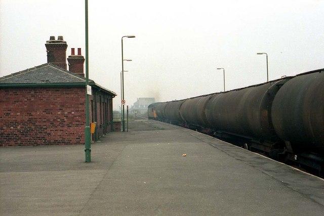 An Oil train passing