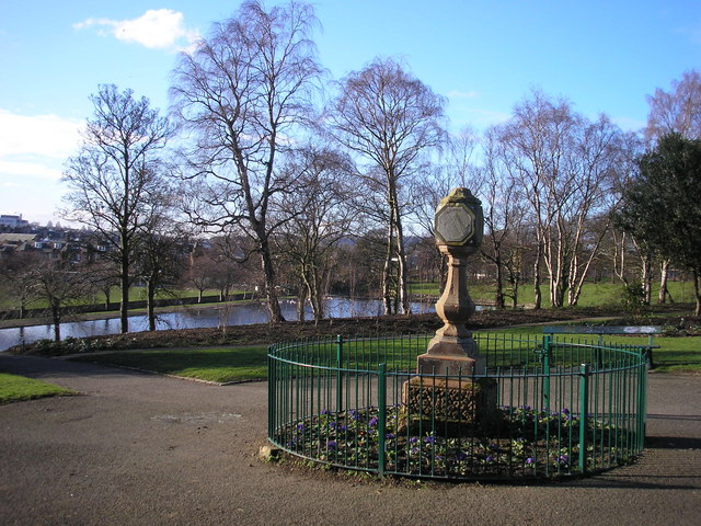 Sundial in Inverleith Park