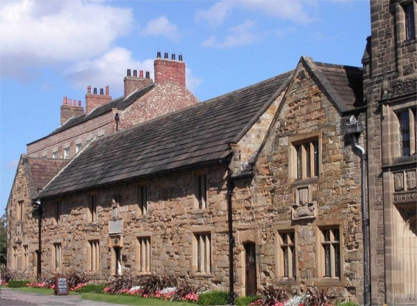 Almshouses Durham Cathedral precinct