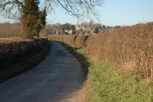 Lane to Almeley