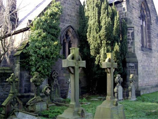 Gravestones, Little Crosby Church