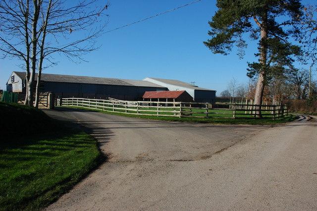 Farm at Lower Chadnor