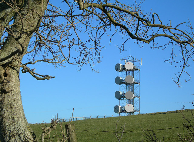 Communications Mast at Fisherton