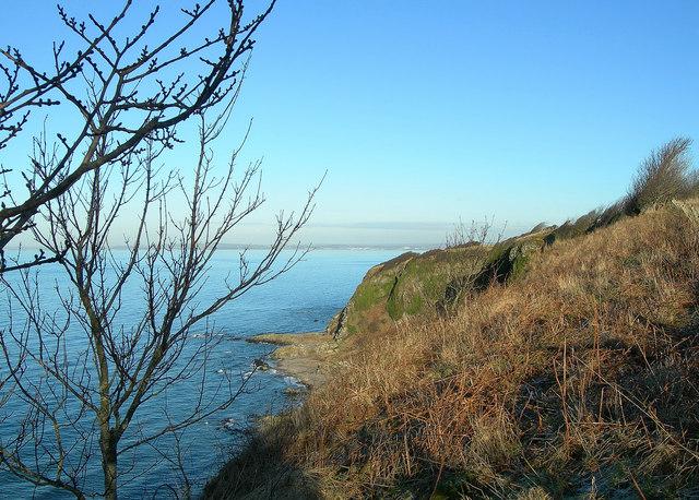 Cliffs at Drumbain