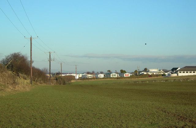 Fields and Caravans