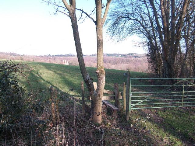Footpath off Tinker's Lane