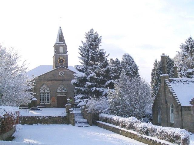 Currie Kirk in Winter
