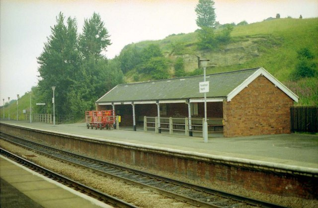 Pontefract Baghill Station