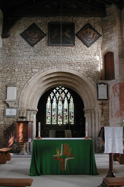 St James the Great, Hanslope, Bucks - East end