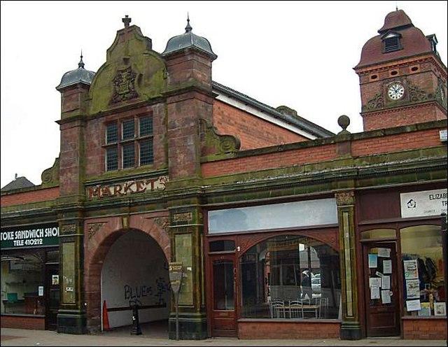 Stoke upon Trent market