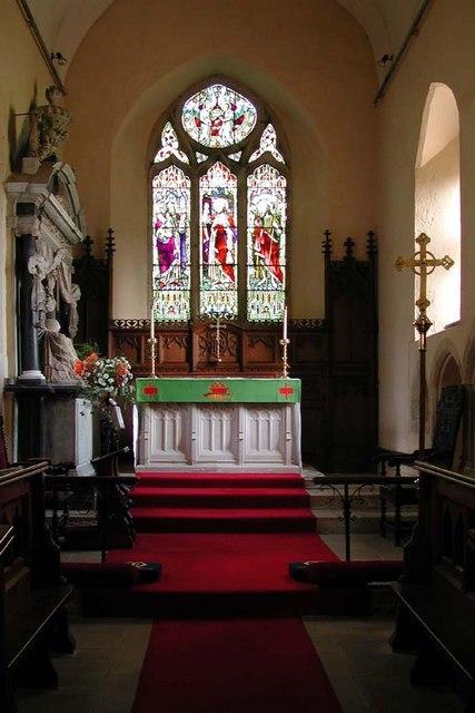 St Simon & St Jude, Castlethorpe, Bucks - Chancel