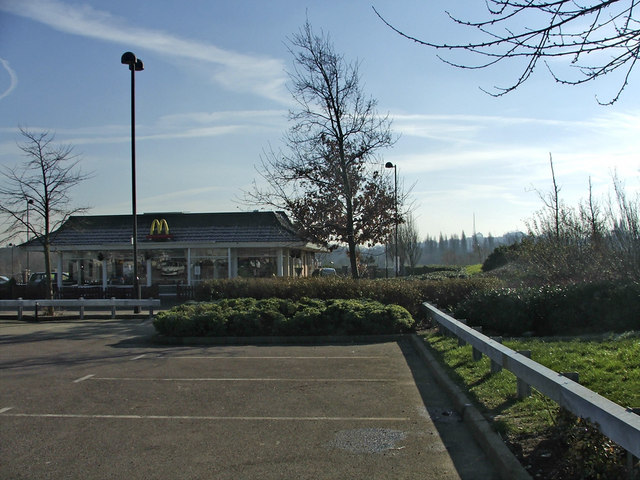 McDonald's Restaurant at Friern Bridge Trading Estate, N11