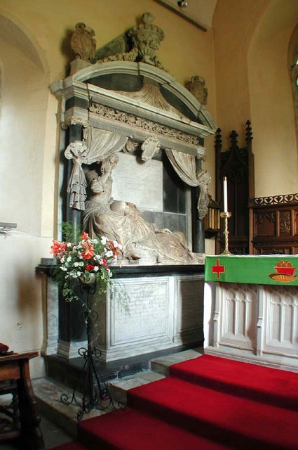 St Simon & St Jude, Castlethorpe, Bucks - Monument