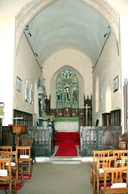 St Simon & St Jude, Castlethorpe, Bucks - East end