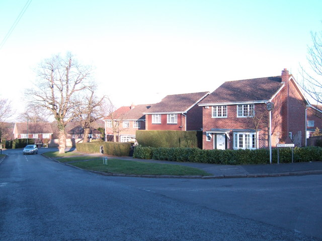 Suburban edge of Heathfield