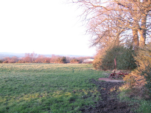 View west of Newick Lane