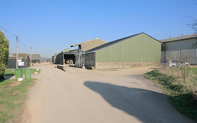 Farm buildings at Upper Norton Farm