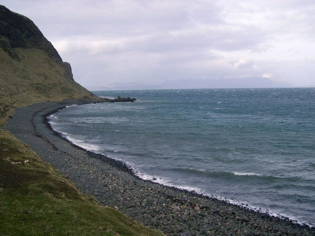 Shoreline below Compass Hill