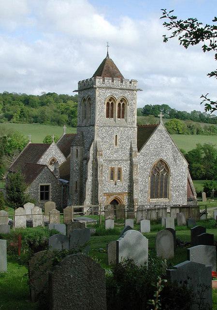 St Michael & All Saints, Hughenden, Bucks