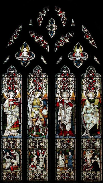 St Michael & All Saints, Hughenden, Bucks - Window
