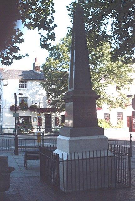 Martyr's Monument, Rayleigh