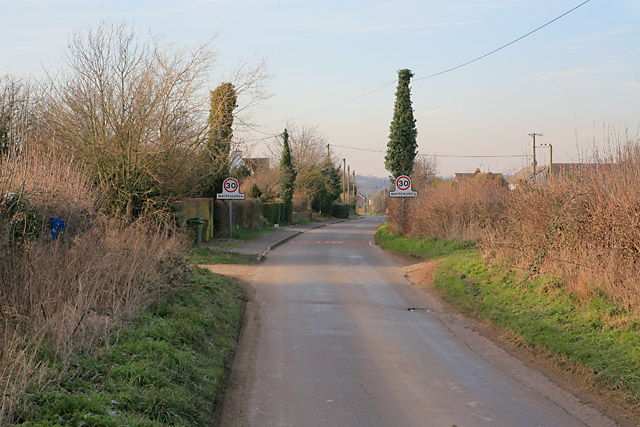 Entering Whitchurch on Micheldever Road