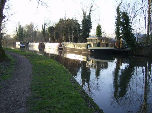 Canal above Ham Lock, Newbury