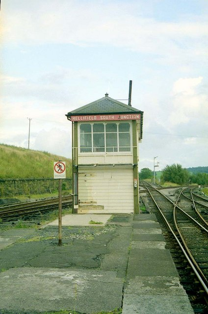 Hellifield South Junction Signalbox