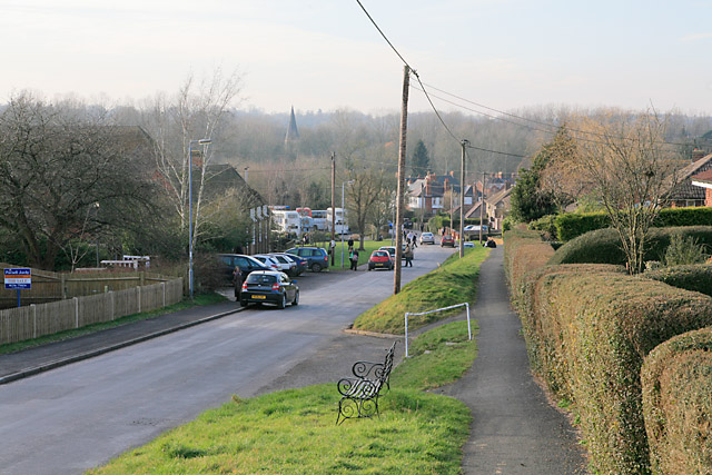 Micheldever Road, Whitchurch, just above the school