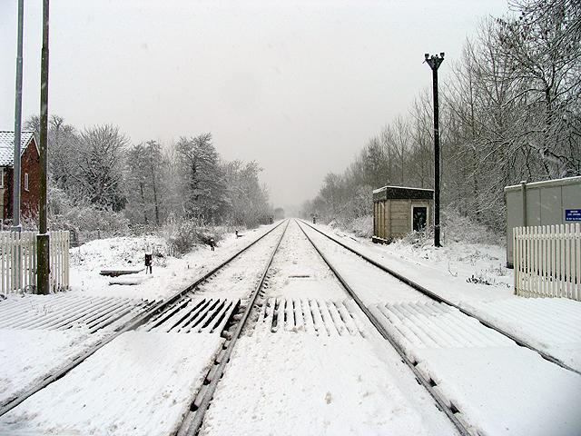 The Newbury to Reading line: Woolhampton