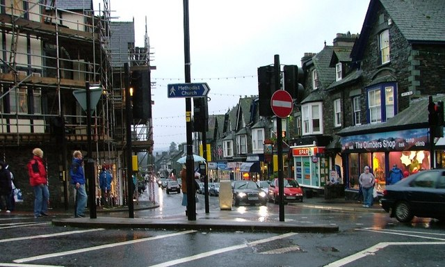 Looking Down Compston Road