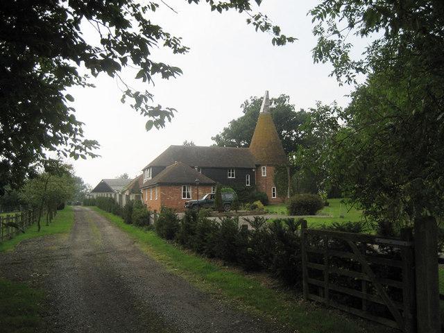 Forsham Oast, Wassall Lane, Rolvenden Layne, Kent