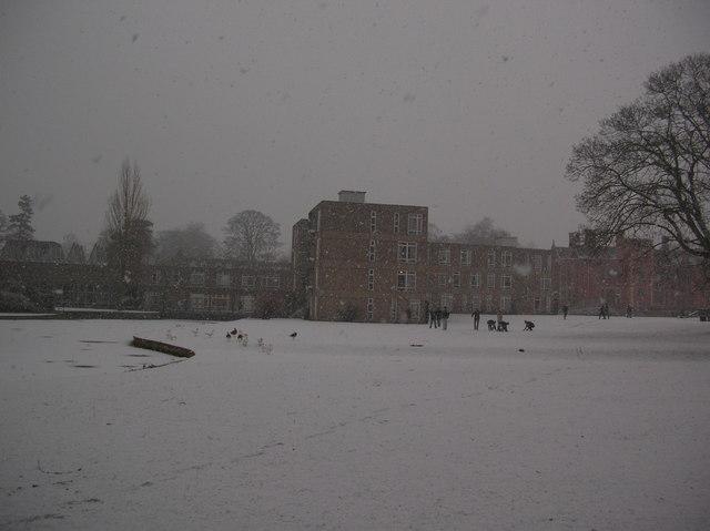 Derwent in snow