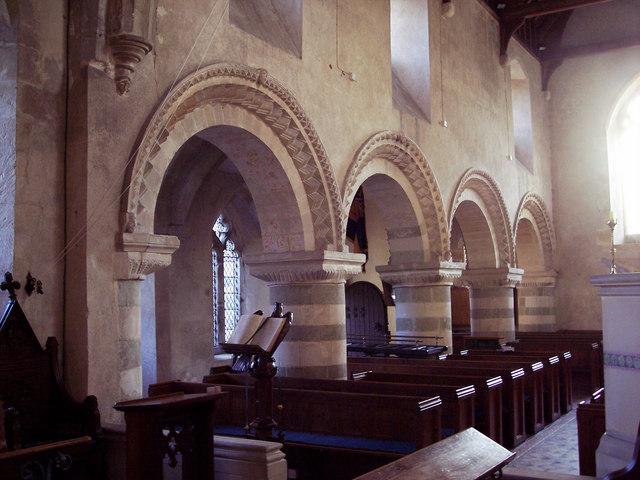 Twelfth century Norman Arches