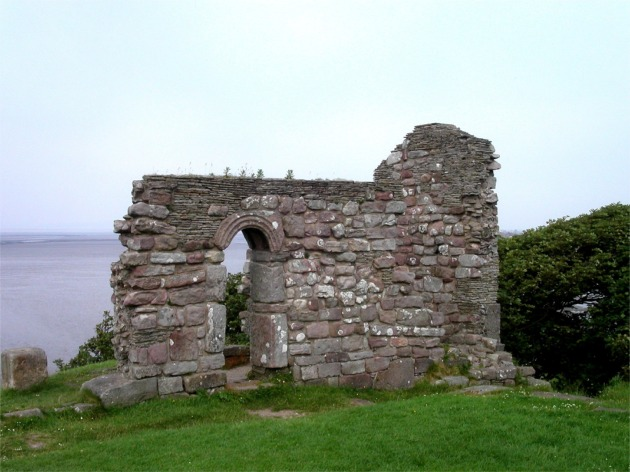 Remains of St Patrick's Chapel, Heysham