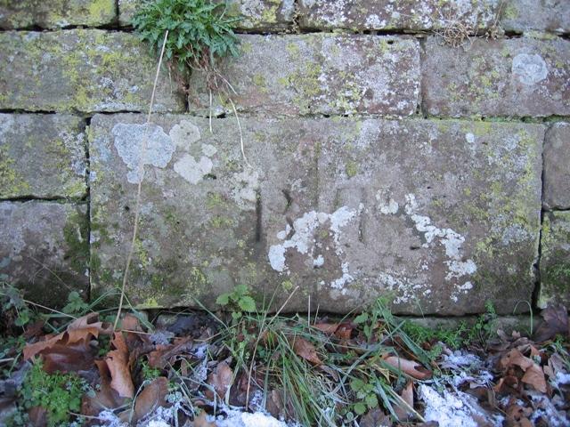 Boundary Stone near Bolesworth