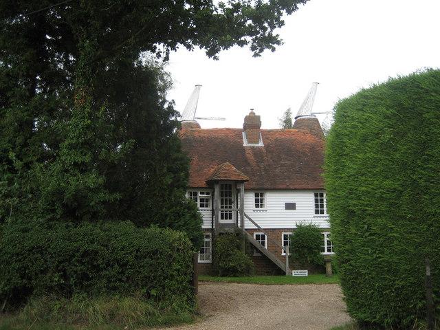 Oast House at Tile Barn Nursery, Standen Street, Iden Green, Kent