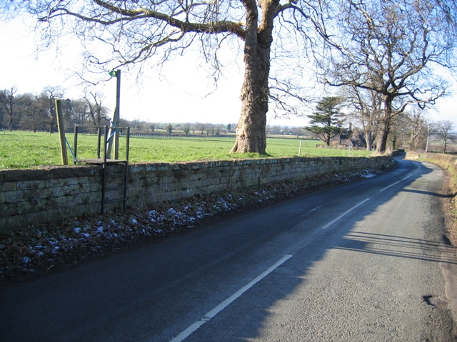 Bolesworth Road and Footpath