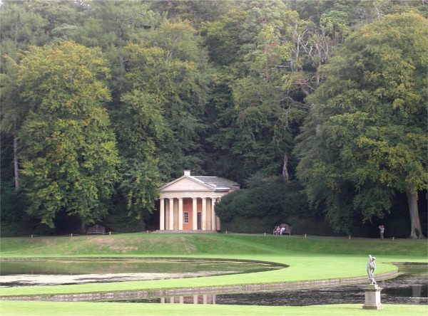 Temple of Piety at Studley Royal