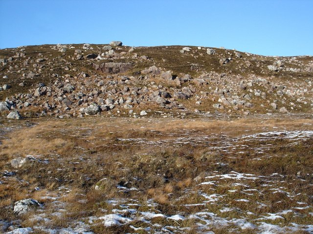 Erratics on the hillside