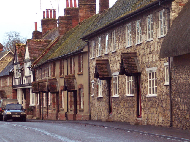 Village Street in Berwick St James