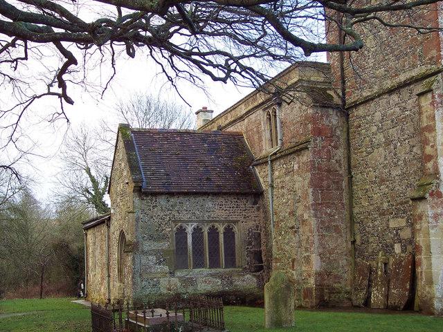 Church Porch, St James Church, Berwick St James