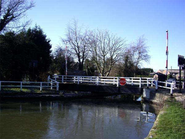 Swing bridge, Wheat Lane, Burscough