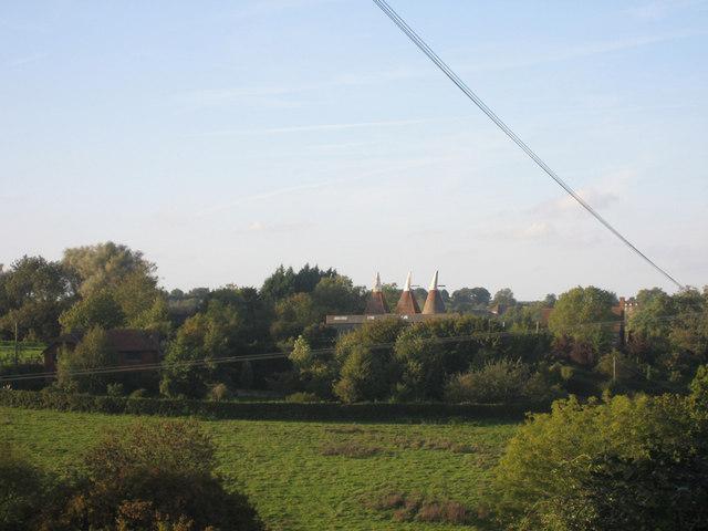 Oast House at Little Halden Farm, Smallhythe Road, Rolvenden, Kent