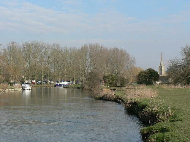 River Thames, looking towards Lechlade