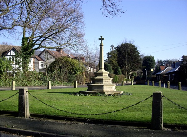 Memorial, Holt Green, Aughton