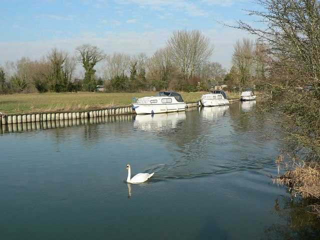 River Thames in February, Lechlade