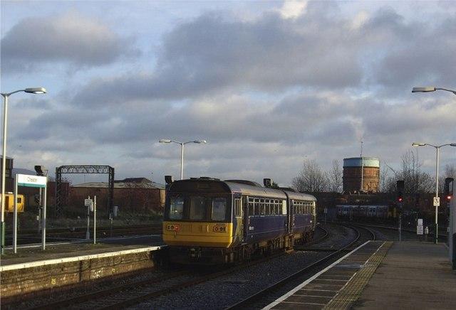 Leaving Chester station